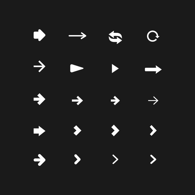 Top 20 Free Arrow Icons Vector Design Download
