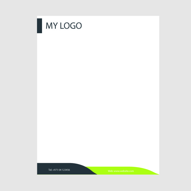 Creative Business Letterhead Template Design Free Vector Download