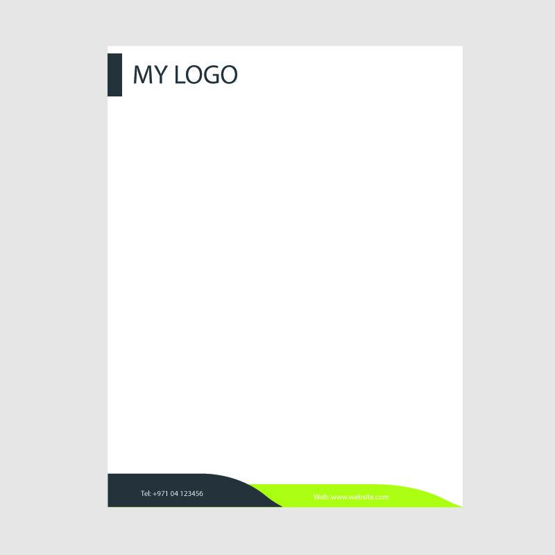 Creative Business Letterhead Template Design Free Vector Download