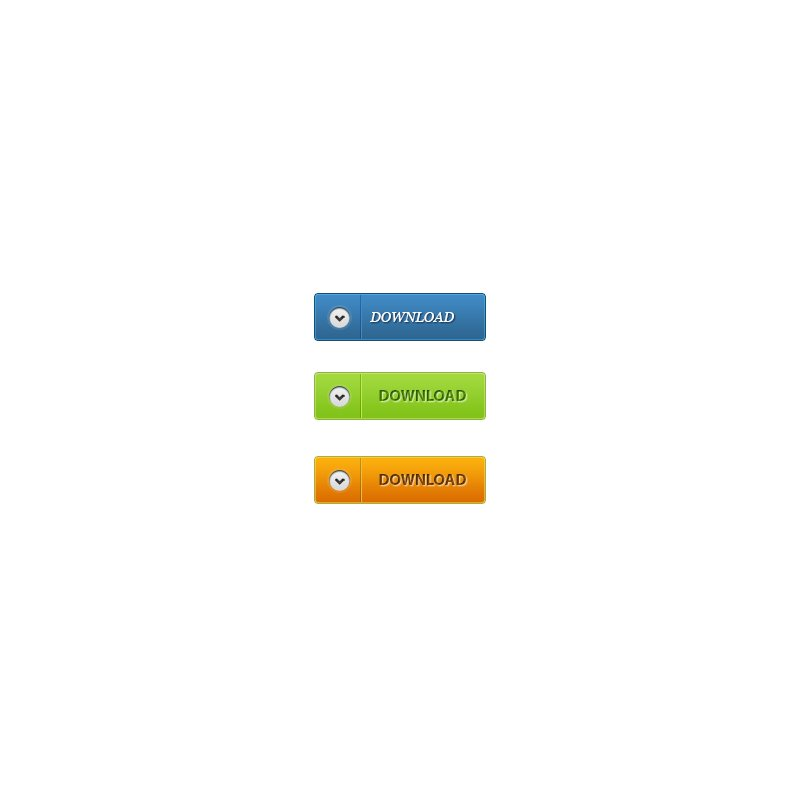Download Buttons PSD Design Free for UI & Website