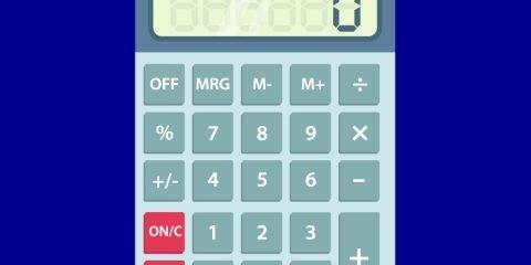 Calulator Mockup Template Design Free Vector File