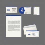 Corporate Clean Identity Design Free Vector File
