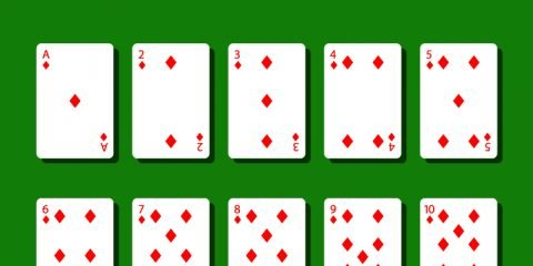 Diamond Poker Cards Design Free Vectors Files