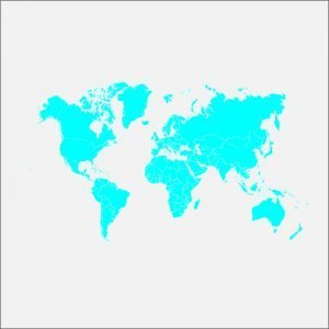 Simple World Map Design Free Vector File
