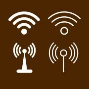 Wifi Connection Signal Symbol Icons Design Free Vector File