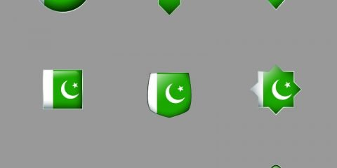 Pakistan Flag Badge
