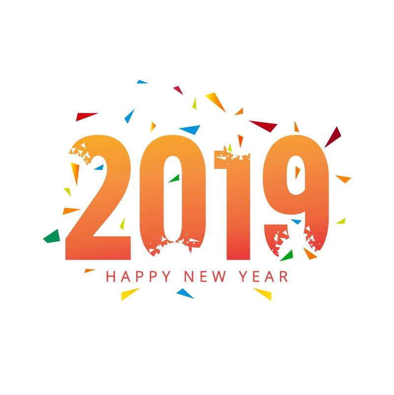 Happy New Year Orange 94