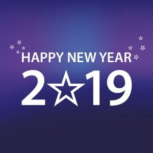 Download Happy New Year 2019 Banner Card Design