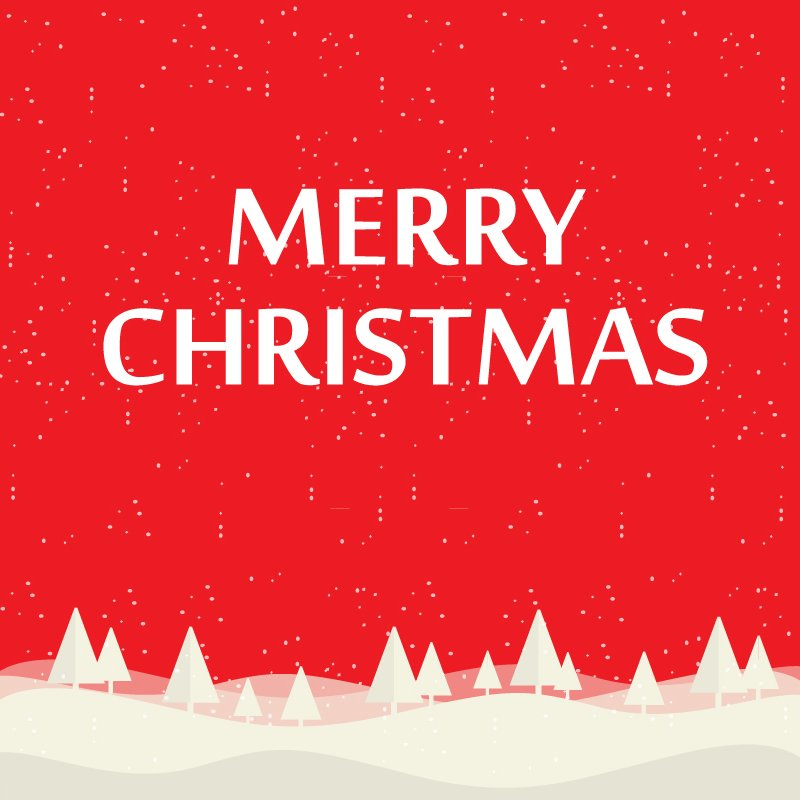 Christmas Background Free.Free Merry Christmas Background Illustration With Typography