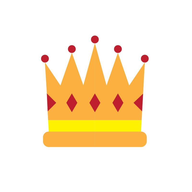 Free Vector Crown for Birthday Party Celebration