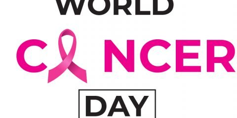 World Cancer Day Simple Card Vector Design
