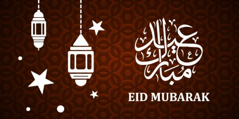 Eid Mubarak 2019 Greeting Banner Design Free Vector
