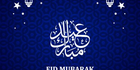 Eid Mubarak 2019 Greeting Card Design Free Vector Download