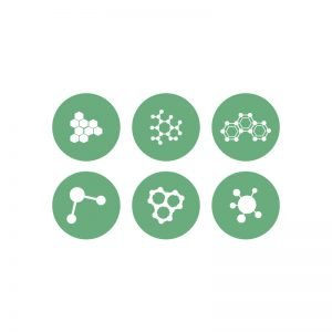 Nanotechnology Vector Icon Free Collection Design
