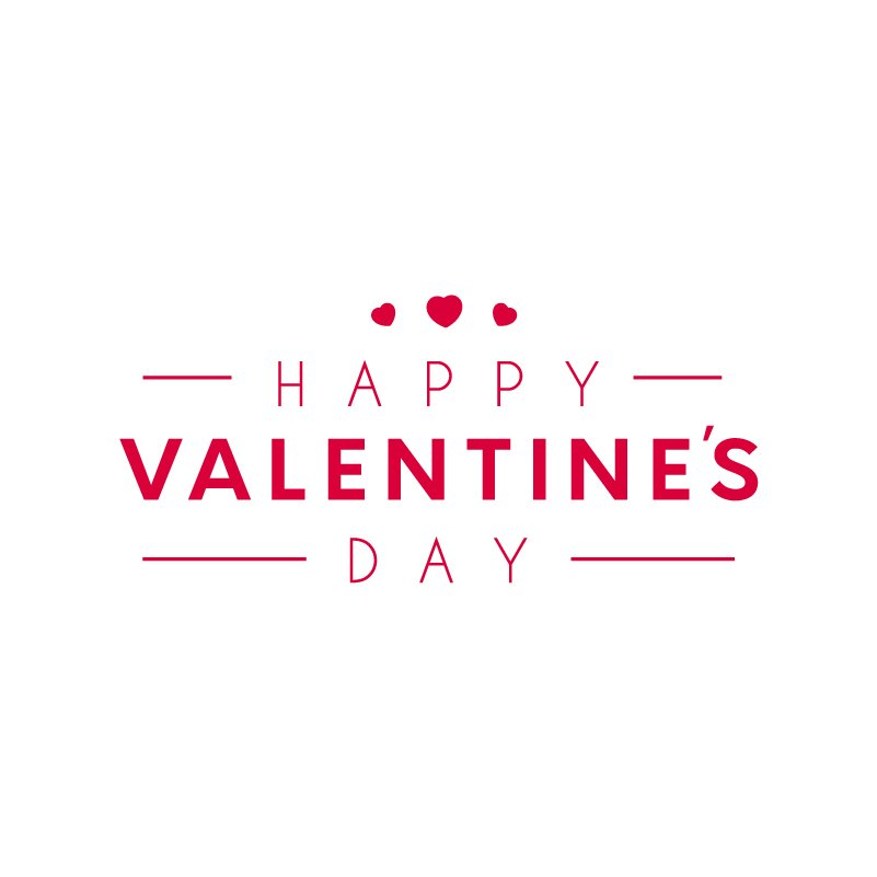 happy valentine u0026 39 s day with lovely heart free vector