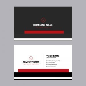 Creative Digital Agency Business Card Mockup Design Template Free PSD Download