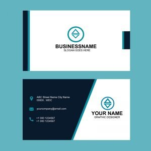 D:\Nadeem\GraphicMore.com\Website Data\Uploading Data\Today\Business Cards\Dark Blue Business Card Template Design Free PSD Download