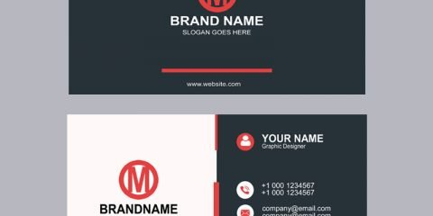 Elegant & Creative Company Business Card Template Design Free PSD Download