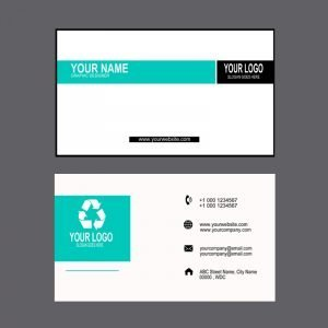 Graphic Design Company Professional Business Card Mockup