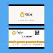 Gold & Black Business Card Template Free Design PSD