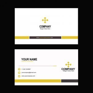 Graphic Design Agency Business Card Mockup Design Template