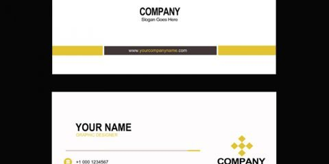 Graphic Design Agency Business Card Mockup Design Template Free PSD Download