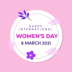 International Womens Day Invitation Card Design Free Vector