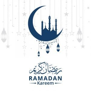 Elegant Ramadan Kareem Banner Vector Design Download